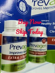 """(Lot of 2 30ct) Prevagen Extra Strength = 60 ⭐ Total Count """"2 MONTH SUPPLY"""" NEW"""