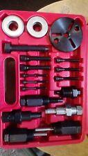 18pc Pulley Puller Installer Tool Kit Power Steering Pump Remover Alternator A/C