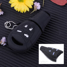 4 Button Car Key Case Silicone Shell Cover Remote Fob For SAAB 9-3 9-5 93 95