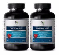 Lower Cholesterol - CHOLESTEROL RELIEF - Cholesterol-lowering effects  -120