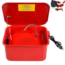 3.5 Gallon portable Parts Washer Electric Solvent Pump Auto Garage Cleaning New