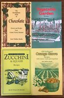 Lot of 4 Old-Fashioned Bear Wallow Cookbooks NEW