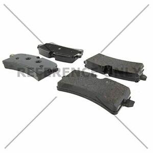 Posi Quiet Semi-Metallic Brake Pads with Hardware