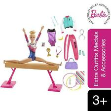 Barbie® Gymnast Playset, Dolls with Accessories