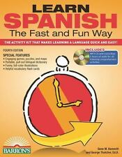 Fast and Fun Way: Learn Spanish the Fast and Fun Way with MP3 CD : The...