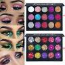 Shimmer Glitter Eye Shadow Powder Palette Matte Eyeshadow Cosmetic Makeup Kit