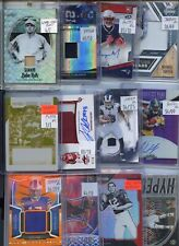 HUGE PREMIUM PATCH AUTO JERSEY #'D ROOKIE INSERT SPORTS CARD COLLECTION LOT $$