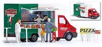 BUSCH 5424 Spur H0, Pizza-Verkaufswagen #NEU in OVP#