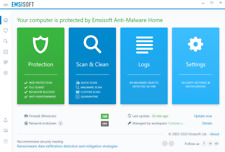 Emsisoft Anti-Malware Home 1 Year 1 Computer - ONE DAY DELIVERY