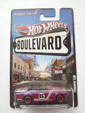 2011 Hot Wheels Boulevard Legends Purple Triumph TR6 Real Riders