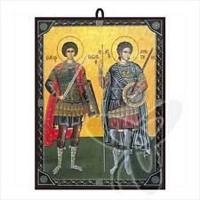 Icono hl. Georg y hl. Dimitrios Grecia икона Георгий и Дмитрий