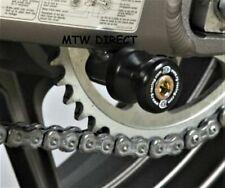 Suzuki GSF1250 Bandit All Years R&G BLACK M8 Cotton Reels Paddock Stand Bobbins