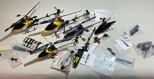 La raccolta WALKERA modello elicottero 2,4 GHz fugfertig molti accessori ricambi U.