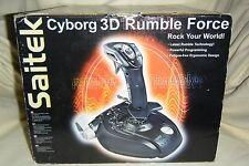 Saitek J59 Cyborg 3D Rumble Force Stick   ***SH681**