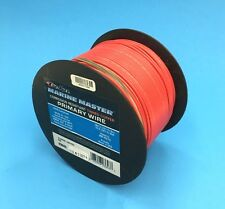 DEKA 16 AWG RED Marine Tinned Copper Boat Stranded Wire 100 Feet Made in USA
