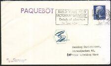 GB DENMARK 1975 ship cover GRIMSBY PAQUEBOT................................46664