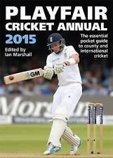 Playfair Cricket Annual 2015, Marshall, Ian, Very Good condition, Book