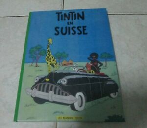 """Rare BD SEX """"TINTIN en Suisse"""" Jan Buquoy parodie-pastiche,48p.coul.NUMER. 16/30"""