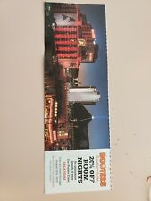 HOOTERS CASINO HOTEL LAS VEGAS 20% OFF ROOM COUPON