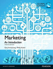NEW 3 Days 2 US / CA Marketing An Introduction 12E Armstrong Kotler 12th Edition