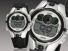 OHSEN Sport Digital AL School Watch For Child Boy Girl Wrist Watches Gray Silver