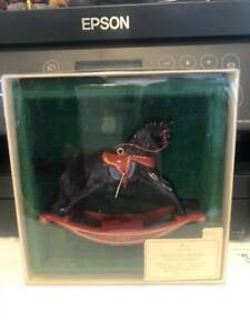 Hallmark ornaments new in box ROCKING HORSE SERIES
