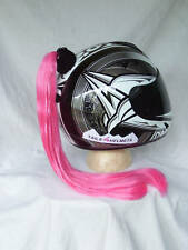 PONYTAIL  HELMET  PINK  PONYTAIL    MOTORCYCLE, SKATE BOARD, BIKE