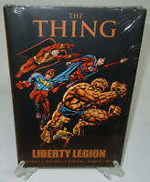 The Thing: Liberty Legion Red Skull Marvel Comics Brand New HC Hard Cover