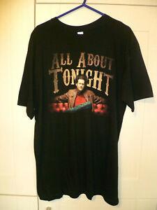 "BLAKE SHELTON - ORIGINAL ""ALL ABOUT TONIGHT"" BLACK T-SHIRT (XL)"