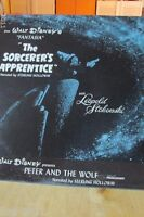 Walt Disney The Sorcerer's Apprentice Record Album   DQ-1242 Disneyland Records