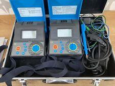 Metrel Smartec MI2120 RCD LOOP LINE & M12123 INSULATION  Electrical Testers