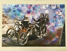 EASY RIDERS,DESIGNED BY ANANDA KURT  AUTHENTIC 1999 POSTER