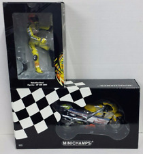 MINICHAMPS Valentino Rossi 1/12 Honda NSR 500 Tape Blue 2001 1a Version