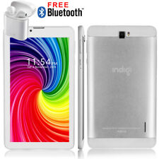 """Best Gift!!! White 7.0"""" Capacitive Multi-Touch Android 9.0 Pie 4G Phablet Google"""
