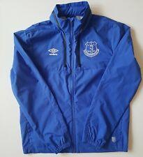 Everton Umbro Large Blue Windbreaker Jacket. FREE Shipping in the UK.