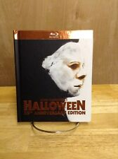 JOHN CARPENTER HALLOWEEN 35TH ANNIVERSARY DIGIBOOK BLU RAY HORROR MOVIE 1978