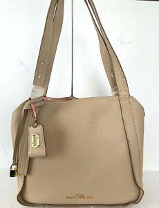 Marc Jacobs Beige Leather The Director Shoulder Bag $450.00 #709SW