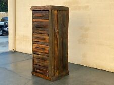 Rustic Cabin 6 Drawer Log Chest