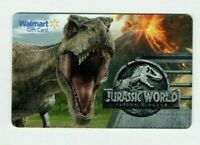 Walmart Gift Card - Jurassic World, Dinosaurs - No Value - I Combine Shipping