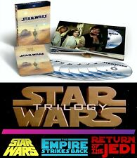 Star Wars Complete Saga 9-Disc Movie Set or Theatrical Original Trilogy Blu-ray