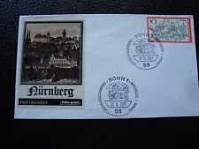 ALLEMAGNE (rfa) - enveloppe 1er jour 21/5/1971 (B8) germany