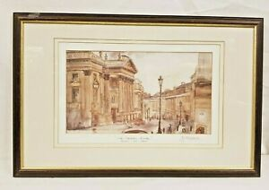 The Theatre Royal Grey Street Painting By Jim Doran 1992 - Signed.