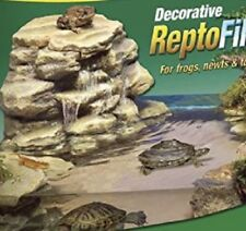 Aquarium Rock Waterfall Reptile Filtration System Turtle Frog 55 Tank Pump Quiet