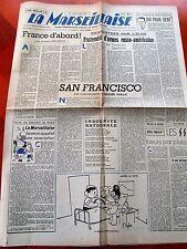 B8-1 Journal La Marseillaise du 3 au 9 mai 1945