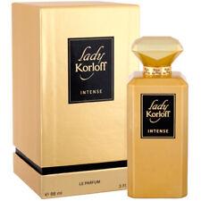 KORLOFF LADY KORLOFF INTENSE EAU DE PARFUM FEMMES 88ml VAPO NEUF SOUS BLISTER