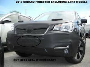Lebra Front End Mask Cover Bra Fits 2017-2018 SUBARU FORESTER (EXC. 2.0 XT)