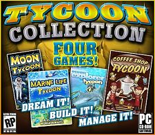 TYCOON COLLECTION FOUR GAMES! PC CD-ROM NEW & FACTORY SEALED