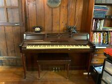 Wurlitzer Vintage Upright Piano 1960's
