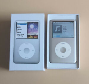 NEW, Apple iPod Classic 7th Generation 160GB /120GB Black / Silver-90days Warray