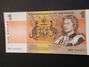 1969  PHILLIPS / RANDALL  $1  NOTE , UNCIRCULATED , No. ANN 246945.